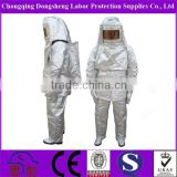High Heat Chemical reflective coverall of protective clothing