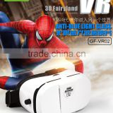 2016 new product Professional Accept OEM customized logo 3d glasses portable VR BOX