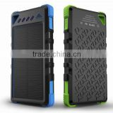 2016 Hot Selling Super Waterproof 8000mah Solar Power Charger Solar Inverter