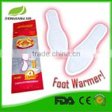 2015 health care supplies Shoe adhesive warmer heat pad 12hours disposable heating insoles