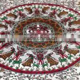 Latest Designs Traditional Mandala Print multi color Floral print Indian cotton Bed sheets