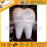 customized inflatable tooth helium balloon for advertising F2061