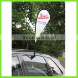 Promotion!!!Custom Outdoor Advertising Display Car Window Flag,Hanging Car Flag, Mini Flag