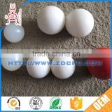 Top selling cheap wear resistant white plastic open balls