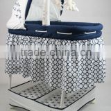 portable baby bed,iron baby crib,foldable baby cot