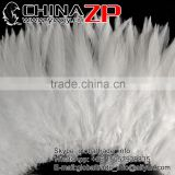 ZPDECOR Wholesale Cheap in Stock Samba Costumes Material NATURAL WHITE Schlappen Strung Rooster Feathers