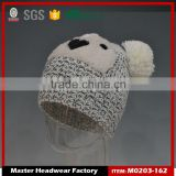 cartoon characters beanie hat with two balls