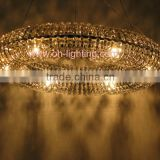 ring crystal glass chandelier