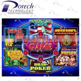 Poker game casino slot multi game 6x pcb game board