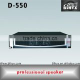 China supplier 550W pa amplifier,professional power amplifier circuit,audio power amplifier D-550