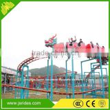 used amusement park equipment sliding dragaon mini roller coaster for sale roller coaster track for sale