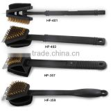 Foam brush and brass wire brush for BBQ Grill