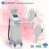 Manufacturer supply 3 handles IPL machine for hair removal skin rejuvenation veins removal
