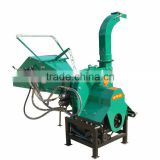 WC-8 PTO driven,hydraulic feeding,mobile wood chipper for 25hp-55hp tractor with CE certification
