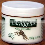 Australian Eucalyptus Oil Cream 250g Body Lotion hand face Vitamin E (G&M Cosmetics)