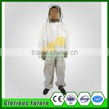New design ultra breeze bee suit / 3 layers breathable bee protection suit/ventilated beekeeping suit