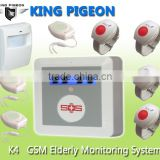 Elderly help alarm SOS emergency panic button for elderly,wireless elderly timer for medical k4