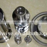 SS 202# meat grinder mixer, 12# parts, good polish