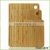 Premium Bamboo Cutting Board Set. Extra Thick, Durable,Strong Eco-friendly and Renewable Better Than Wood Cutting./Homex_Factory
