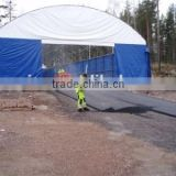 Trussed Fabric Building , Warehouse Tent , Storage Shelter