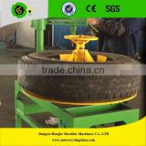 Tire bead ring cutting recycling machine