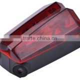 HONG HAO 500mW 625nm 2*AAA Adjustable Bicycle laser tail light