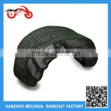Motorcycle Accessories Custom Bicycle Black Cool Breathable 3D Air Mesh Motorcycle Seat Cover