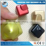 High Quality Colorful funny new design fidget metal Cube & spinner toys with ball bearing r188