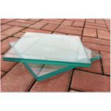 Bulletproof glass laminated tempered safety glass