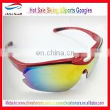 ski sport glasses /fashion ski glasses hot sale manufacturer chinahonor shanghai