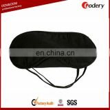 100% cotton black eye sleep mask