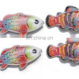 Fishing Game Magnetic Transparent Fishes 10CM 12CM