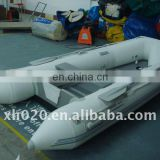 (CE)PVC or Hypalon wooden deck 5 persons in stock ready to ship out Inflatable Boat BB-001