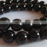 Black onyx 10mm round beads/Onyx gemstone beads/Wholesale onyx gemstone beads/Black onyx beads