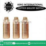 Indian yoga copper water bottle