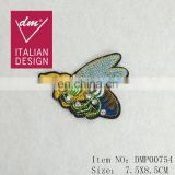 Wholesale beaded bee patch rhinestone applique