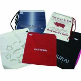LDPE/HDPE/MDPE Shoulder Bags with Customizable Printing