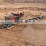 Large output separating different sizes of crushed stone quarry Rotary Drum Screen Image