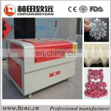 MDF Toys Laser Cutting Machine laser cut mdf craft/low cost plastic laser cutting machine LT-1290
