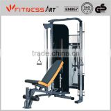 Commercial Cable GYM gym equipment with adjustable bench HGM2005A