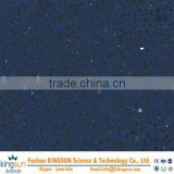 Blue man made quartz stone slab/best selling quartz slab for building materials/decoration stone slab