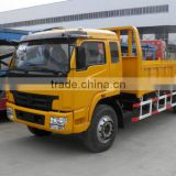 dump truck 6x2 CL3160 payload 8Mt 100kw/135Hp diesel truck 3 seats with sleeper (6.5m cargo bed)