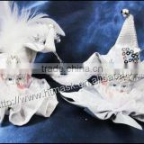 wholesale Pixie Cut Indoor Christmas Hanging Ornaments Decoration with Headwear and lace eye mask