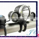 High Quality rechargeable 4400mah 18650 cree-xml 3*t6 led 3800LM bicycle light cycling Led