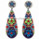 Bohemian Drop Fashion Jewelry For Women 2015 New Vintage dangle earring brand earrings for women gift item benefit makeup