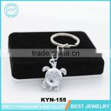 Keychain Manufacturers In China Promotional Gifts Rhinestone Tortoise Cheap Keychain In Bulk Wedding Gifts For Guests