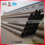 supplying 1/2''-24'' ERW schedule 80 carbon black steel pipe, round iron pipe