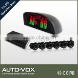 Slim LED Display parking Lot Parking Space Vehicle Detector Sensor System