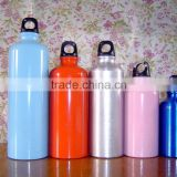 different sizes aluminum material promotional gift OEM water bottle