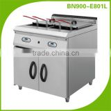 Restaurant kitchen equipment/ Digital Control Electric Fryer Dual Tank For Commercial Use